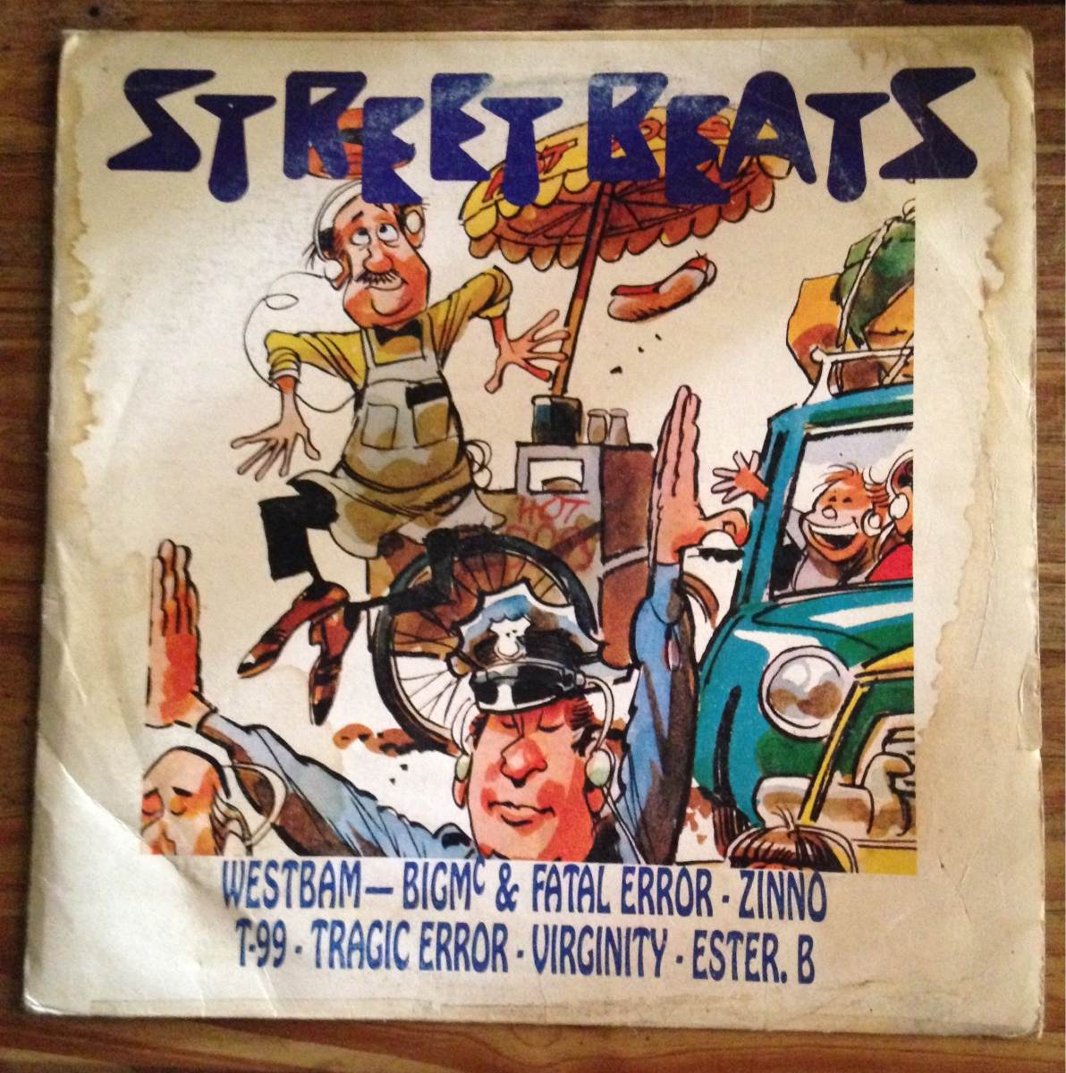 Street Beats - Vinilo Lp House 90s - The Roof Is On Fire - $ 900,00