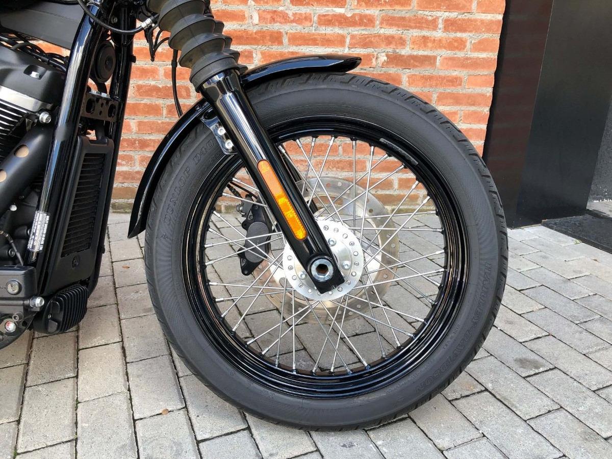 Harley Davidson Street Bob 2018 Apenas 1800km - R$ 48.900 ...