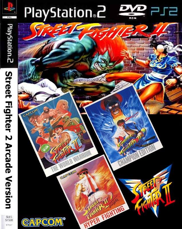 Street Fighter 2 Arcade Versao Playstation 2 R 24 99 Em