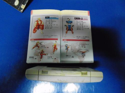 street fighter 2 c/ manual original - super famicom japonesa