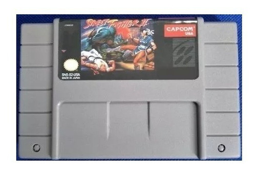 street fighter 2 repro snes super nintendo