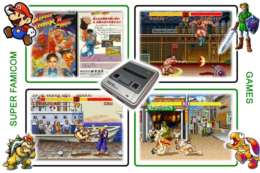 original street fighter 2 characters