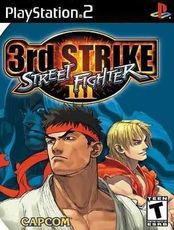 Street Fighter 3 Double Impact Playstation 2 Luta Dvd Ps2 R