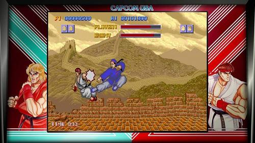street fighter 30 aniversario / juego físico / ps4