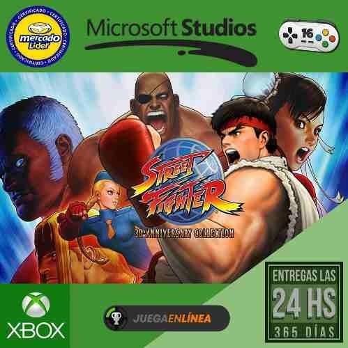 street fighter 30 anniversary xbox one modo local