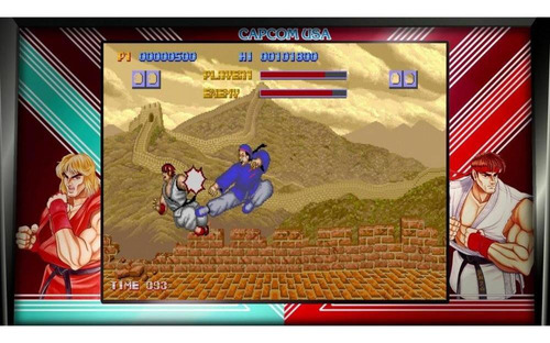 street fighter 30th anniversary collection ps4 mídia física