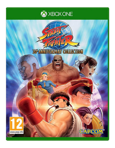 street fighter 30th anniversay collection xbox one