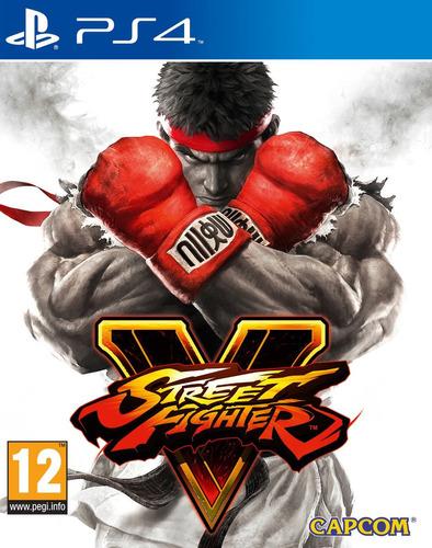 street fighter 5 ps4 nuevo, sellado