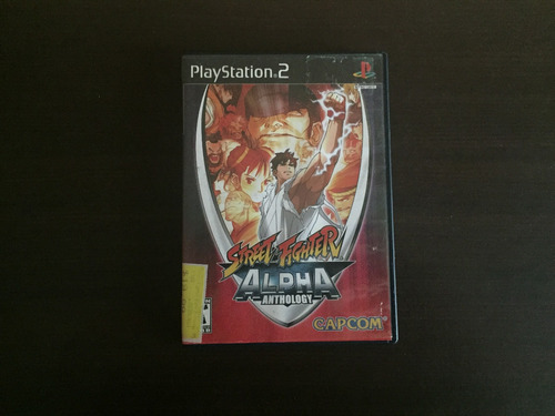street fighter alpha anthology ps2 envío gratis