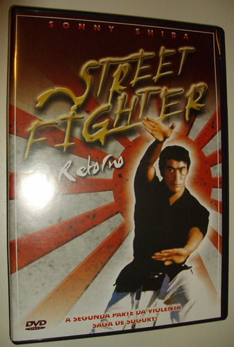 street fighter filme artes marciais antigo anos 70 cult dvd