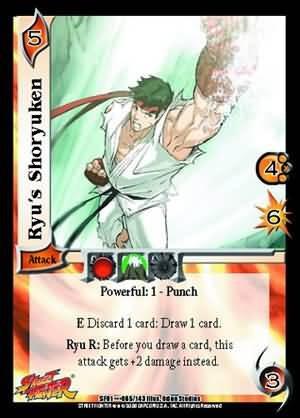 street fighter - juego de cartas coleccionables - imperdible
