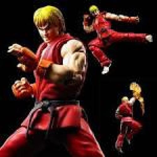 street fighter ken masters - s.h.figuarts