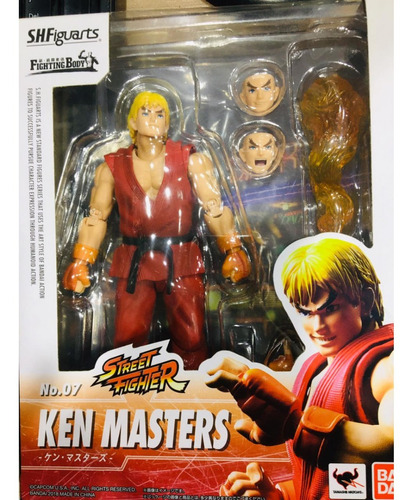 street fighter ken masters - s.h.figuarts