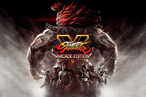 street fighter v arcade edition / juego físico / ps4