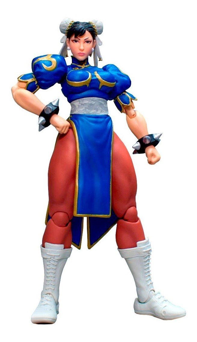 Street Fighter V Chun Li Storm Collectibles Robot Negro