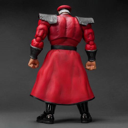 street fighter v - m. bison - storm collectibles robot negro