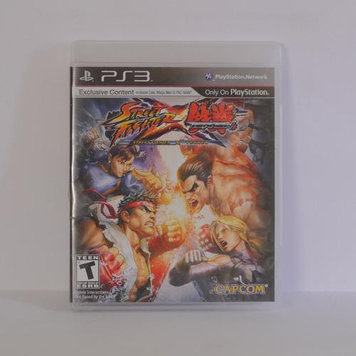 street fighter x tekken - playstation 3  ps3