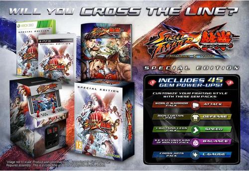street fighter x tekken special edition xbox 360 nuevo