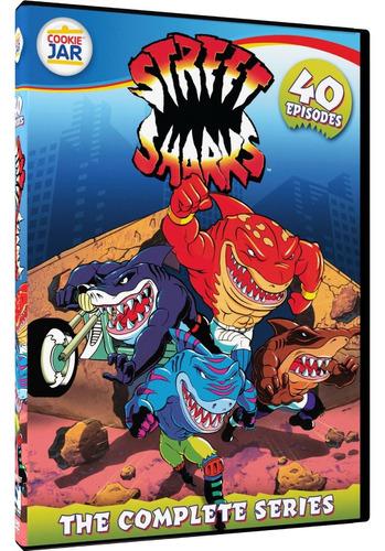 street sharks la serie de tv animada completa en dvd