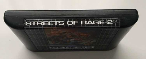 streets of rage 2 original etiqueta reimpresa