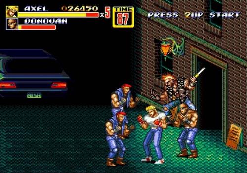 streets of rage 2 - sega genesis