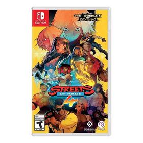 Streets Of Rage 4 Standard Edition Físico Nintendo Switch Dotemu