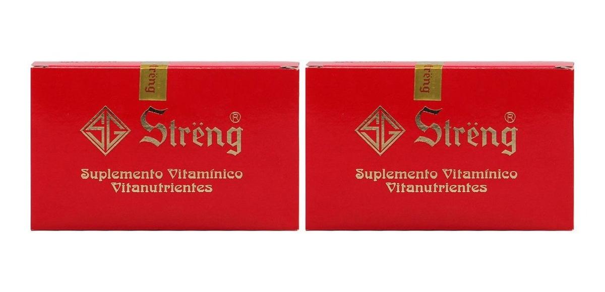 Streng Suplemento Vitaminico 16 Frascos 5ml Kit 2 Unidades