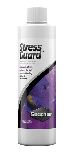 stressguard 250ml seachem anti estress acuario
