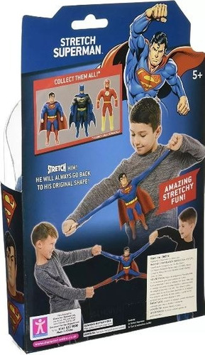 stretch armstrong  superman muñeco pequeño   ref  06614