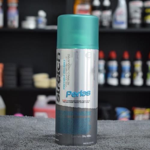 stretch pintura removible en aerosol verde perlado
