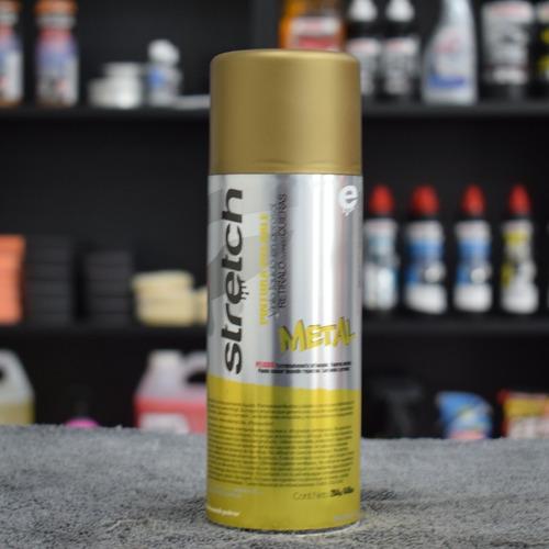 stretch pintura removible vinilo dorado - fixspot