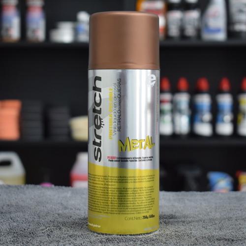 stretch pintura removible vinilo en aerosol cobre