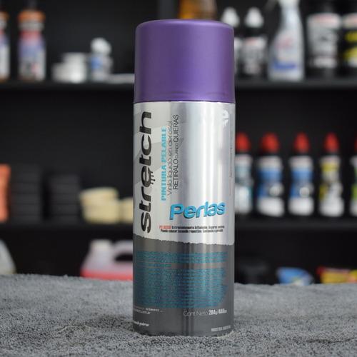 stretch pintura removible vinilo violeta perlado - fixspot