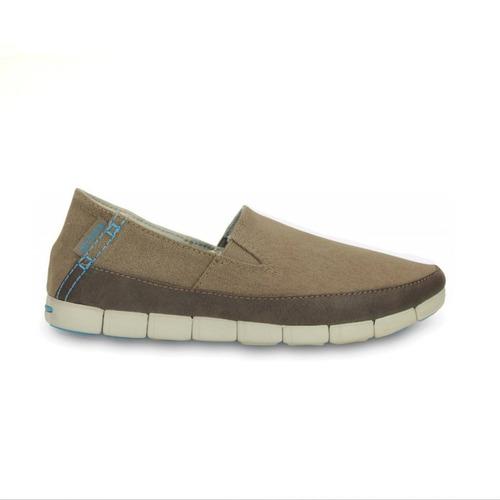stretch sole loafer w :: khaki - stucco