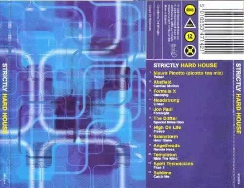 strictly hard house cd importado hecho en inglaterra  bfn