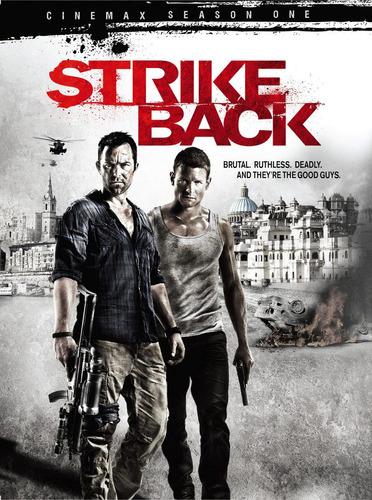 strike back serie 4 dvd temporada 1 nuevo sellado importado