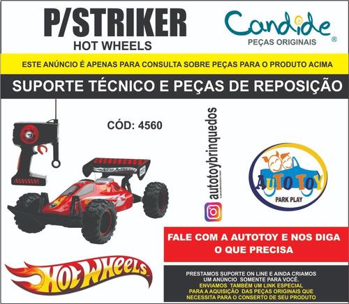 striker  4560 - hot wheels - consulta para peças