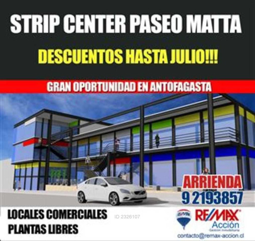 strip center - matta / copiapo