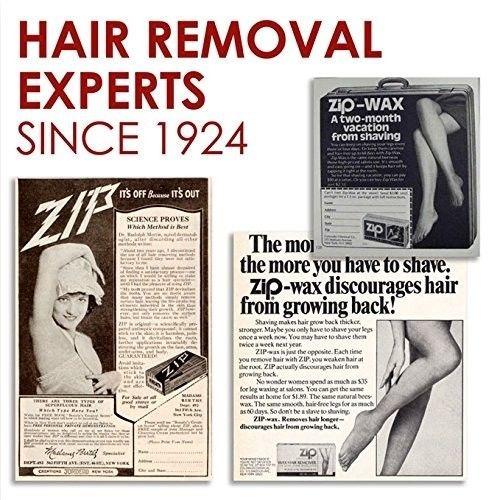 stripless brasileña cabello eliminación cera kit, utiliza