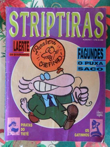 striptiras laerte! editora ensaio!  r$ 15,00 cada!