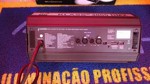 strobo atomic 3000 / dmx / blinder / garantia / nota fiscal*