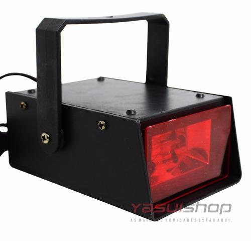 strobo jogo de luz flash efeito camera lenta festa show djs