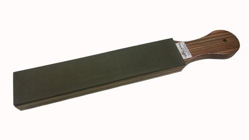 strop de eva com couro dupla face para afiar amolar facas