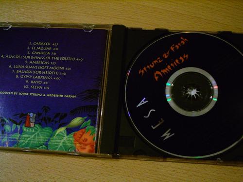 strunz & farah cd americas flamenco importado usa