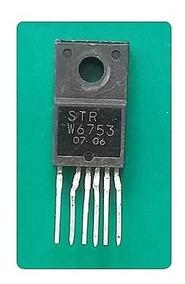 Strw6753 Kit C/ 2 Peças Circuito Integrado Str W6753 6753