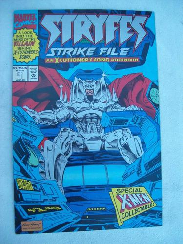 stryfe's stryke file nº 1 - x-men collectable - 1993
