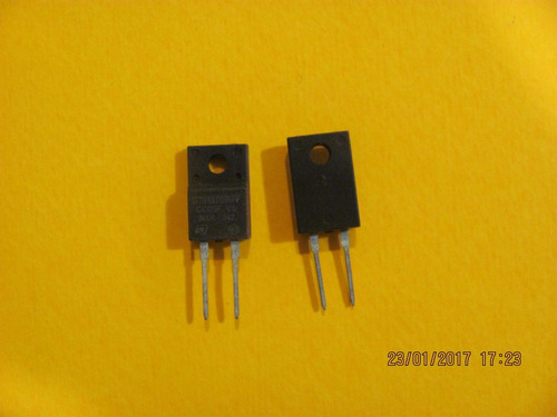 stth10lcd06fp diode ultra fast rectifier 600v 10a 2-pin
