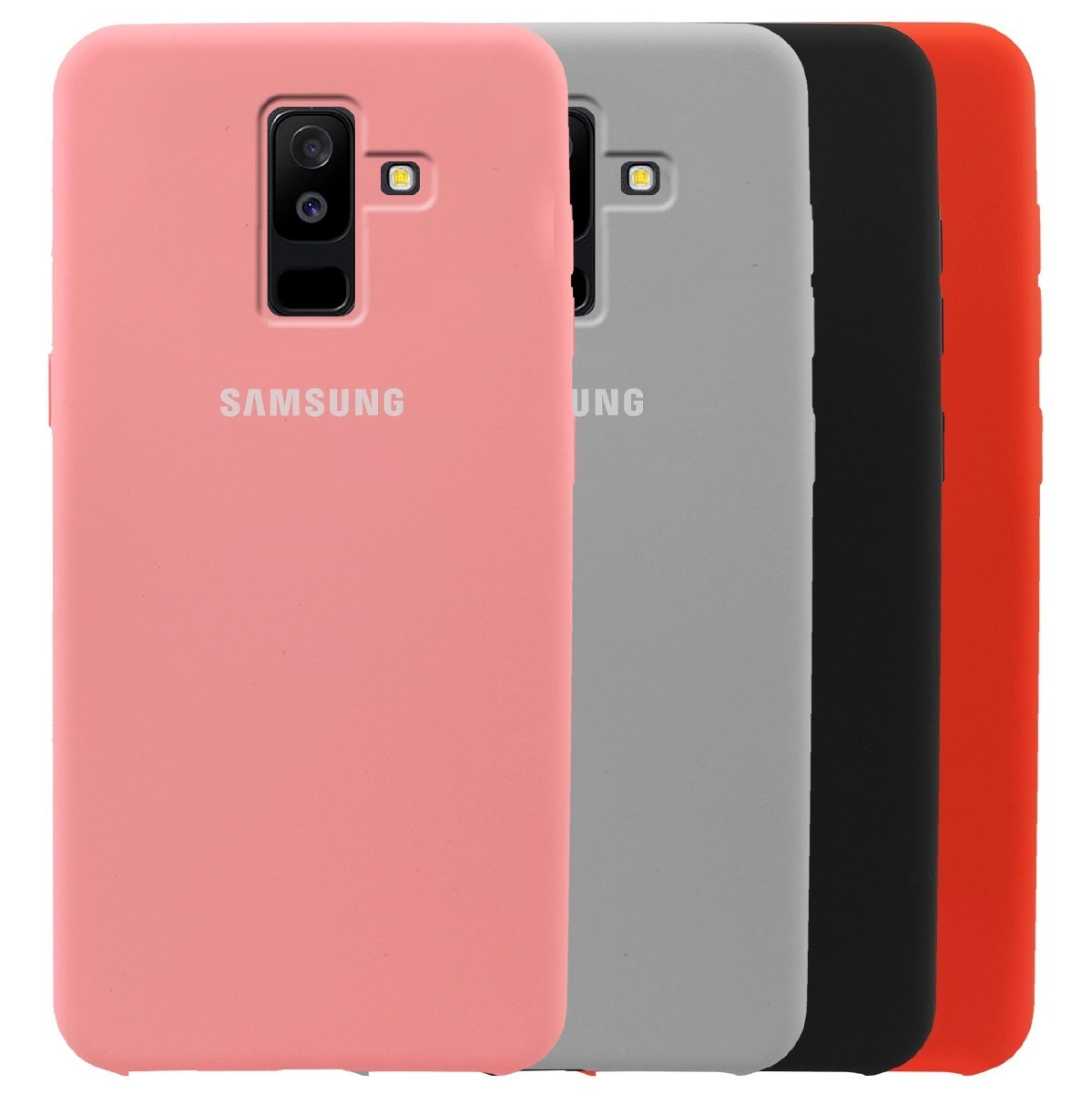 sports shoes f62de d9527 Stuche Silicone Case Para Samsung J4 / J6 / J8