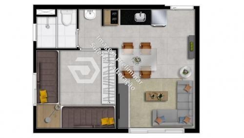 stúdio 25 metros próximo ao metrô são judas minha casa minha vida, lazer!  aproveite! - ap7663