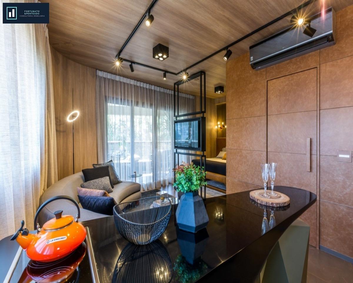 studio alto padrão na melhor localização de são paulo! - ap00090 - 33113424